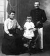 Famille Thivent : Mes grands parents et mon oncle Claudius